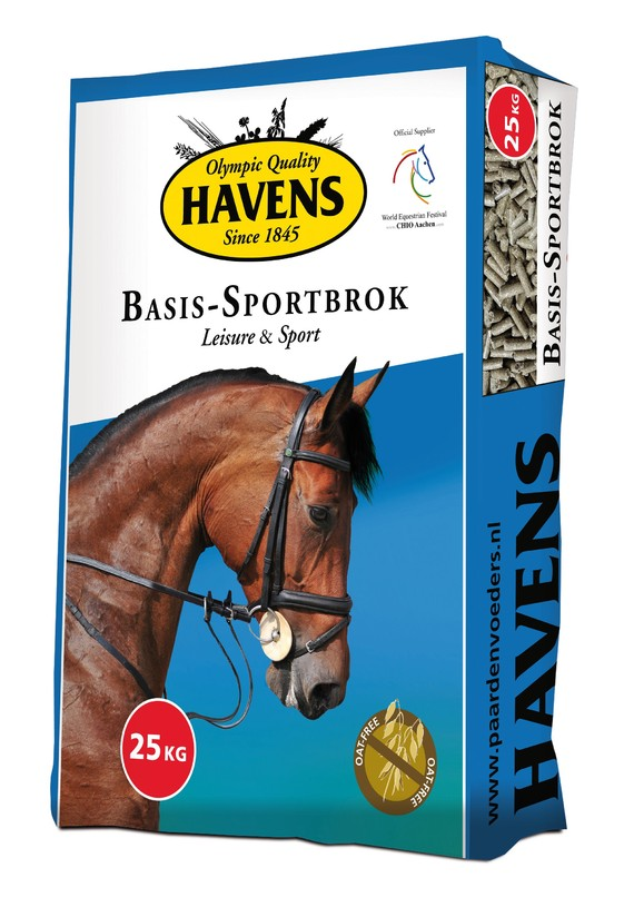 Havens Brokken - Basis Sportbrok 25kg € 11.95