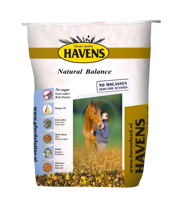 Havens Muesli - Natural Balance 17,5kg € 18.95